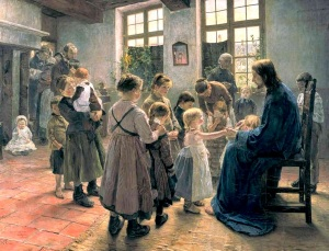 Lasset_die_Kindlein_(Uhde) - let the children come to me